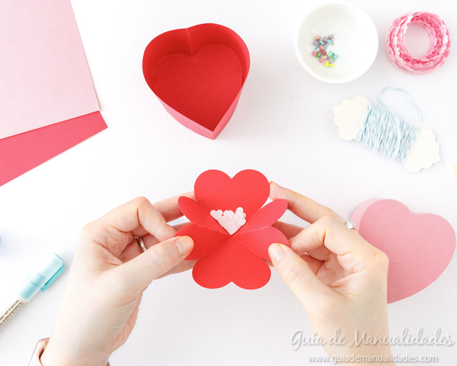 Cajita corazón DIY 9
