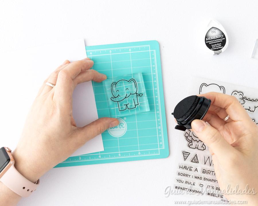 Corte de sellos directo con Scanncut 5