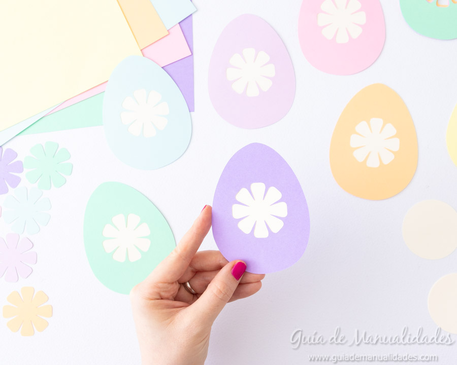 Guirnaldas conejitos y huevos de pascua 6