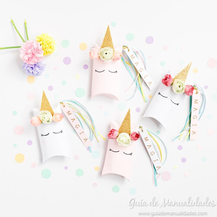 Cajitas sorpresa unicornio 1