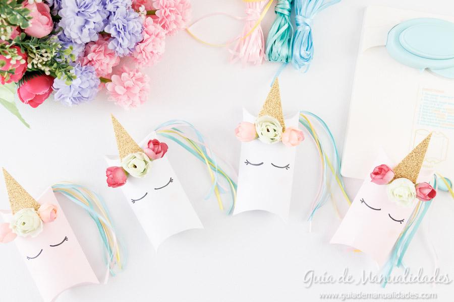 Cajitas sorpresa unicornio 8