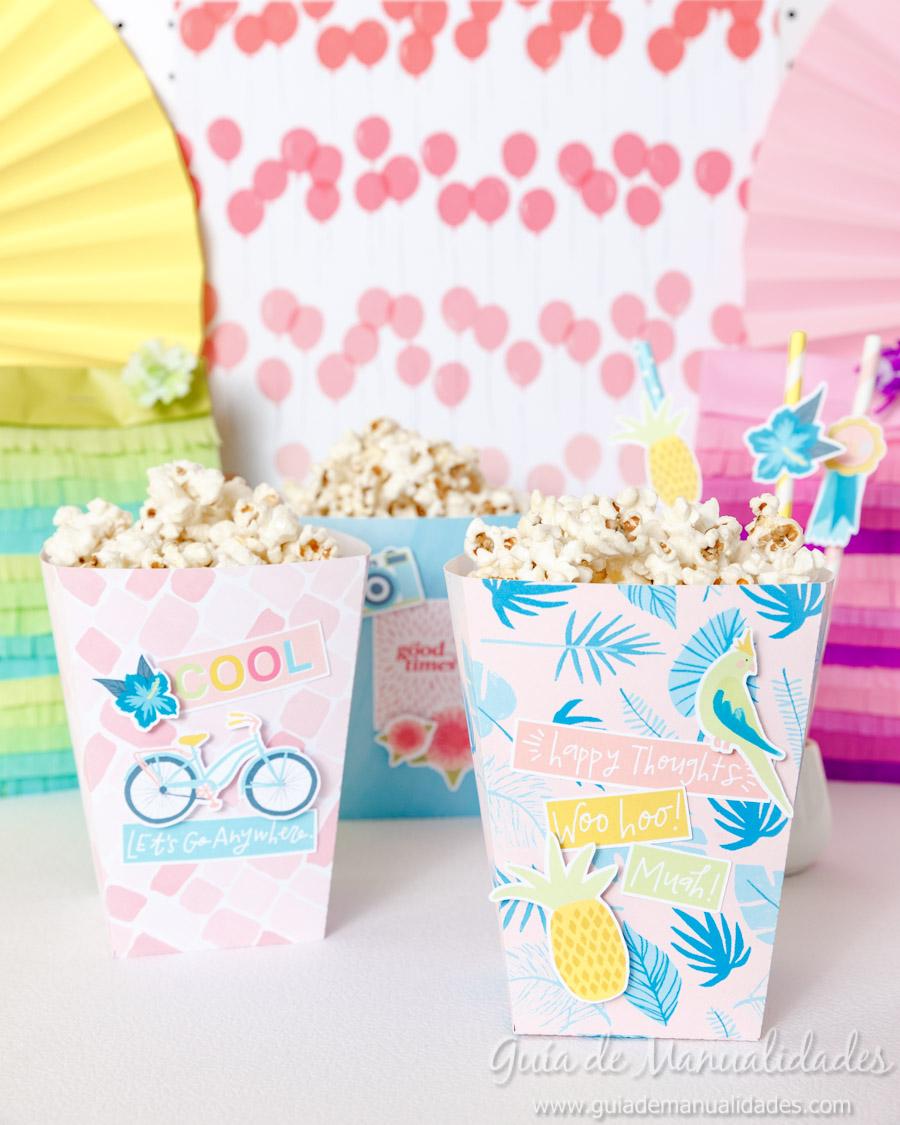 Cajitas popcorn para fiestas 1