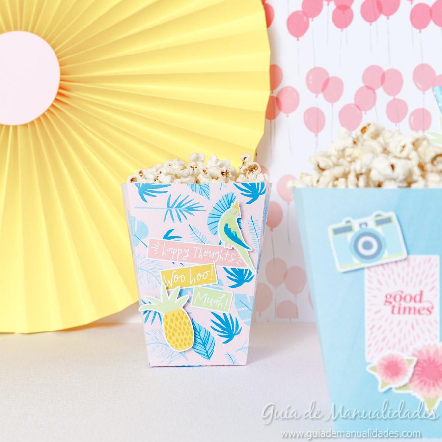 Cajitas popcorn para fiestas 10