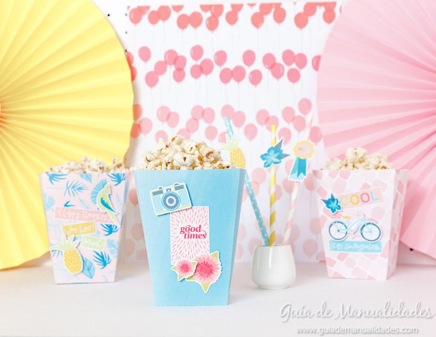 Cajitas popcorn para fiestas 11