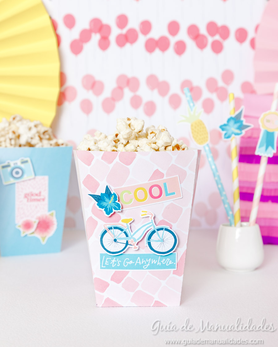 Cajitas popcorn para fiestas 8