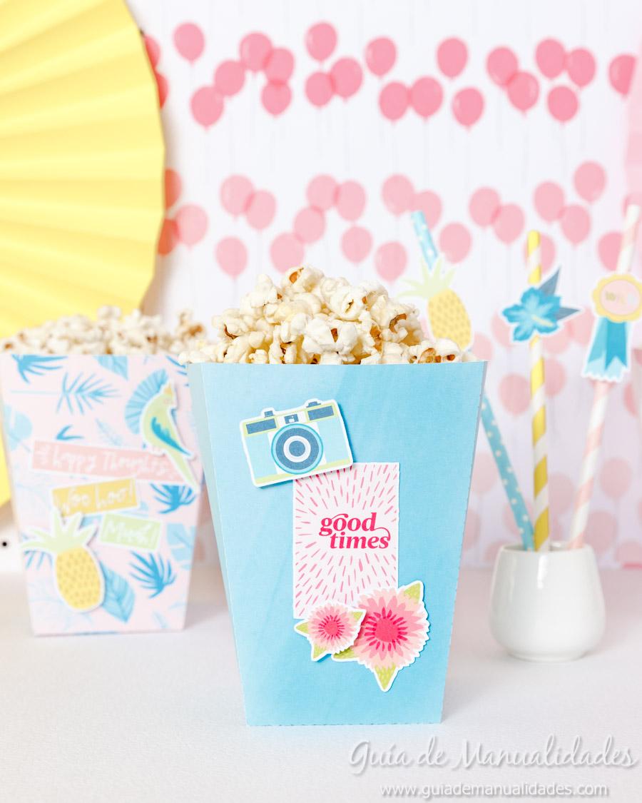 Cajitas popcorn para fiestas 9