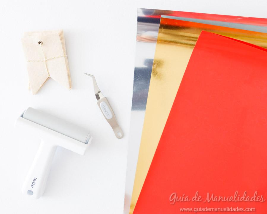 Tags con vinilo textil 2