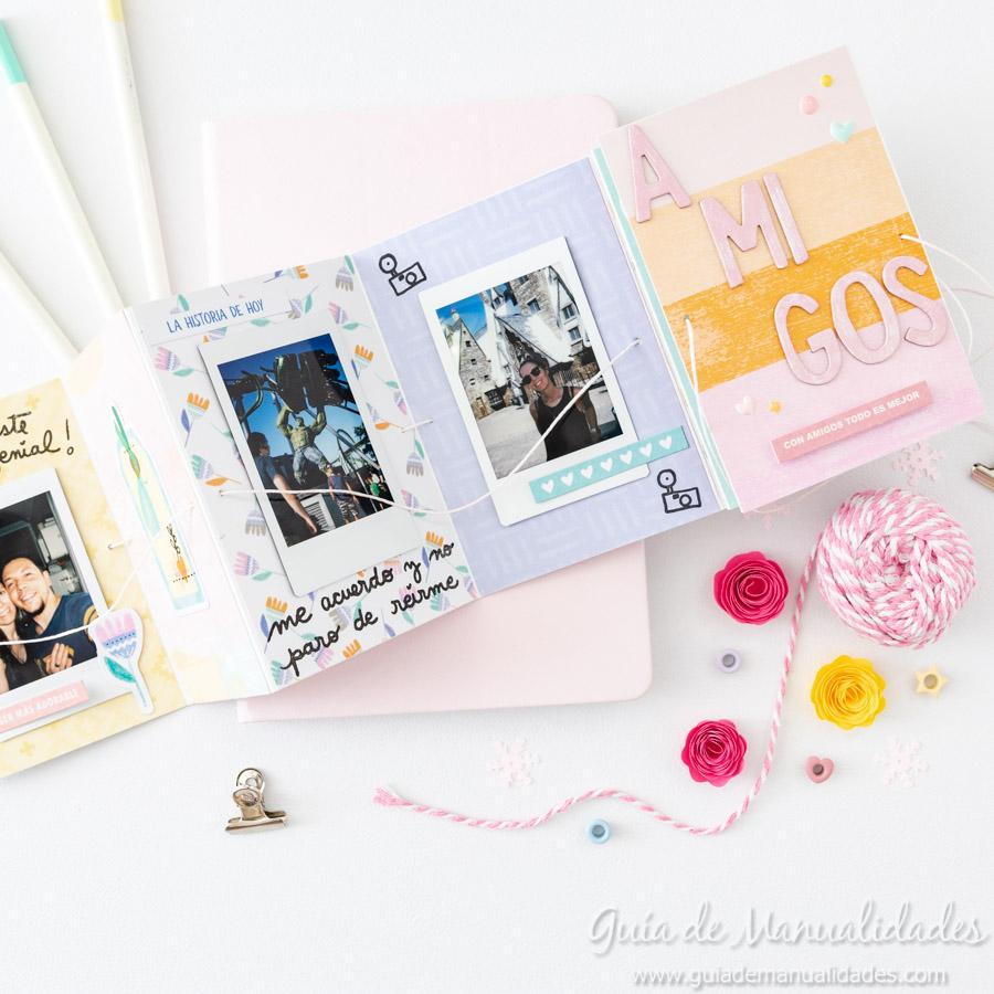 Tarjeta Mini Álbum con fotos para regalar 1