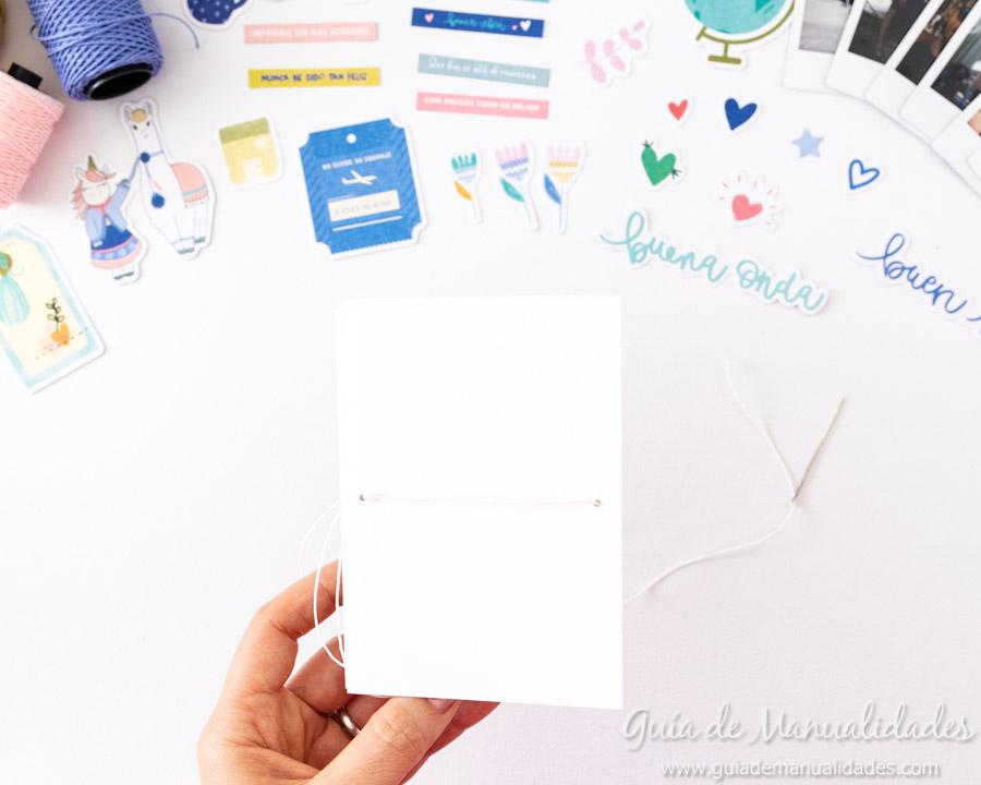 Tarjeta Mini Álbum con fotos para regalar 10