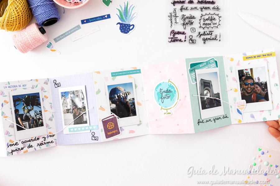 Tarjeta Mini Álbum con fotos para regalar 12