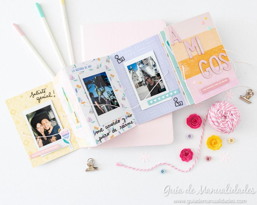 Tarjeta Mini Álbum con fotos para regalar 14