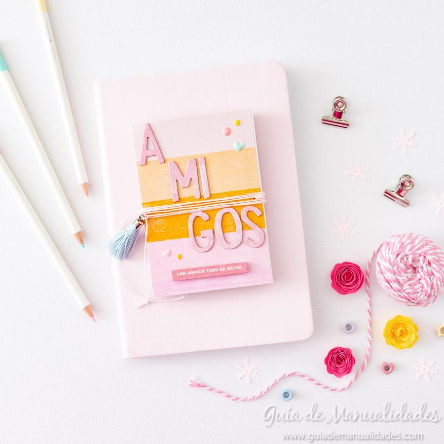 Tarjeta Mini Álbum con fotos para regalar 15