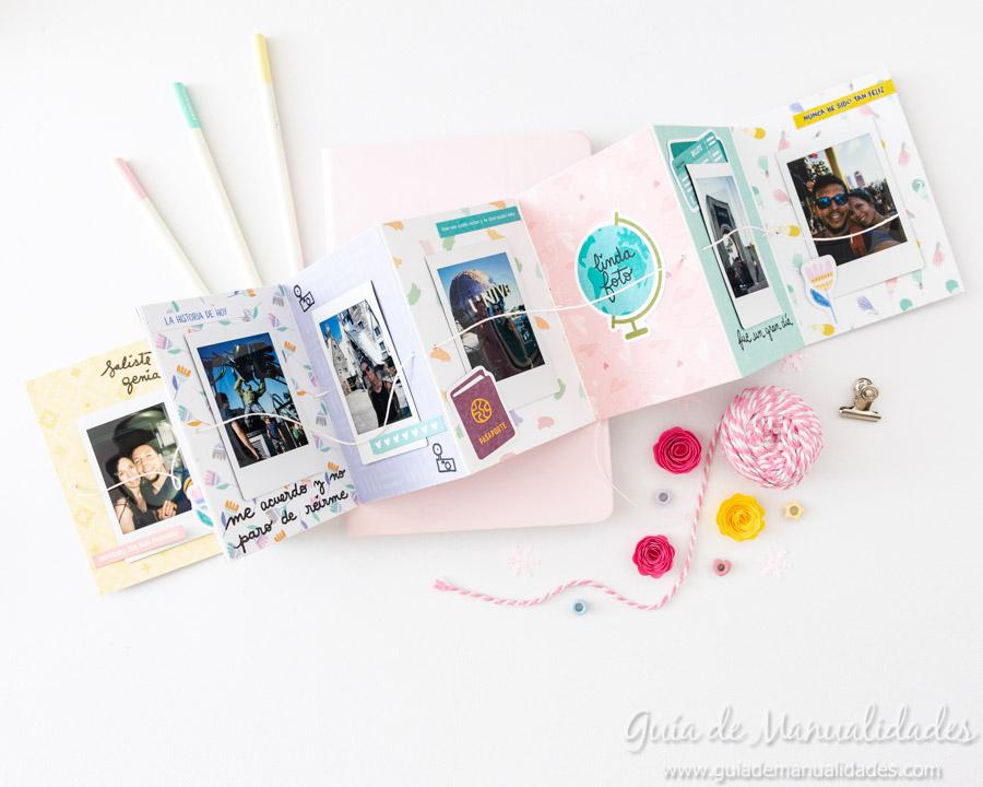 Tarjeta Mini Álbum con fotos para regalar 16