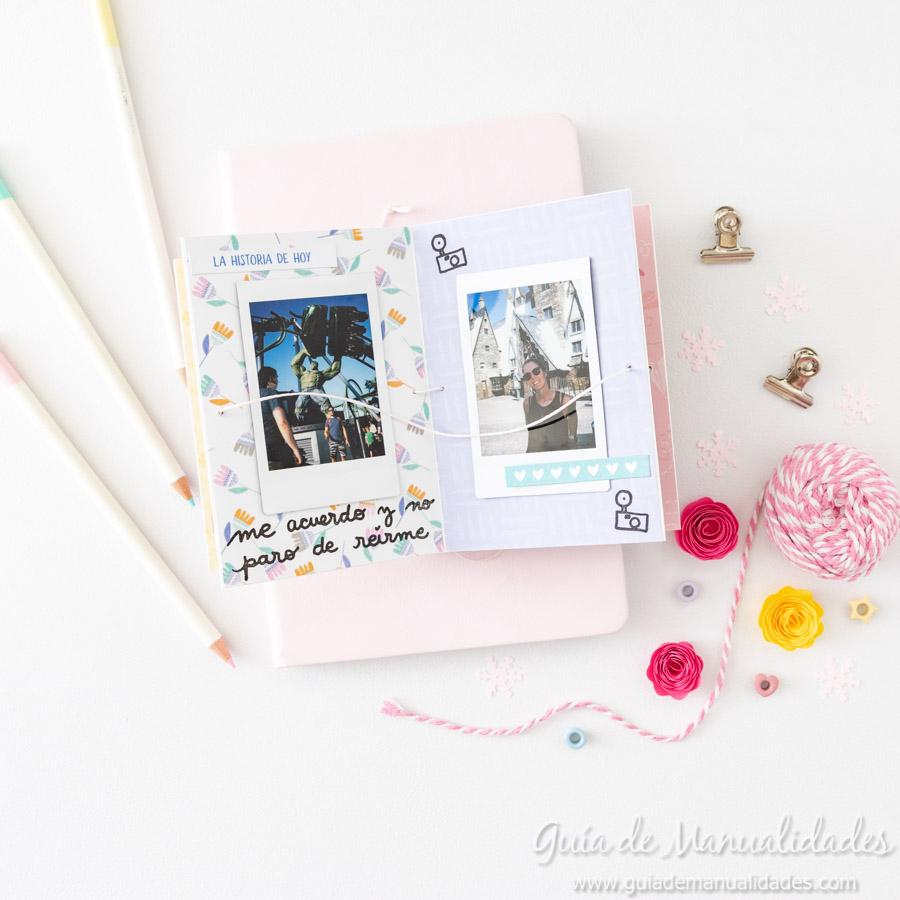Tarjeta Mini Álbum con fotos para regalar 17