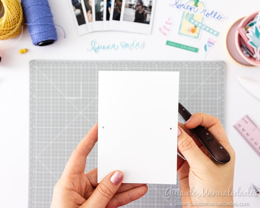 Tarjeta Mini Álbum con fotos para regalar 5