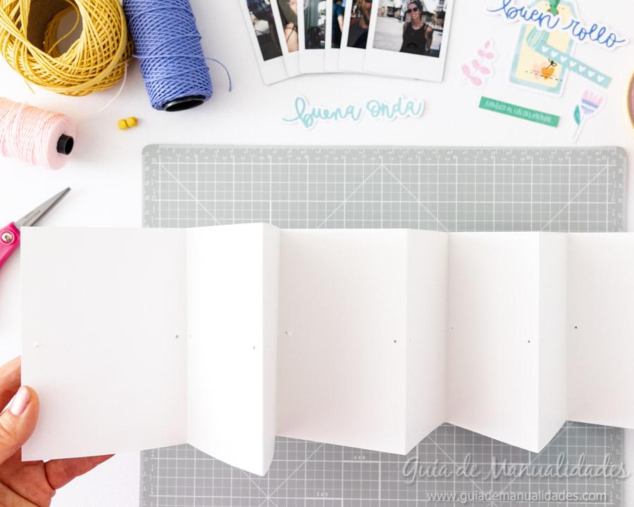 Tarjeta Mini Álbum con fotos para regalar 6