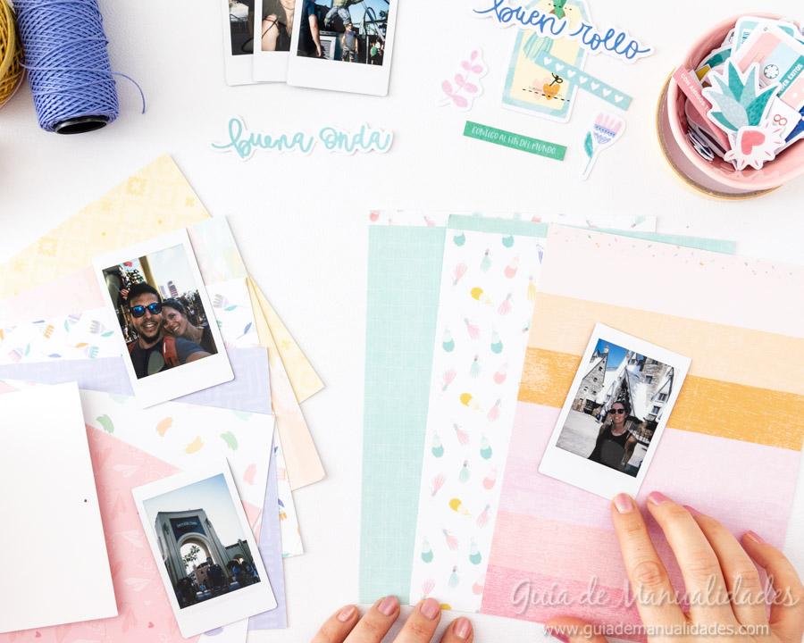 Tarjeta Mini Álbum con fotos para regalar 7