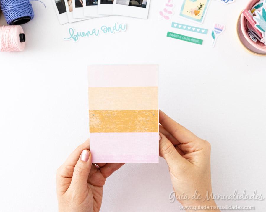 Tarjeta Mini Álbum con fotos para regalar 9
