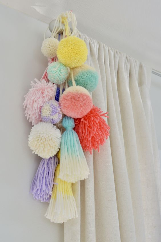 Ideas DIY con pompones 2