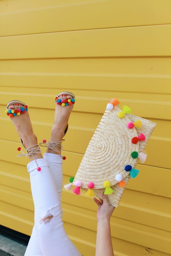 Ideas DIY con pompones 3