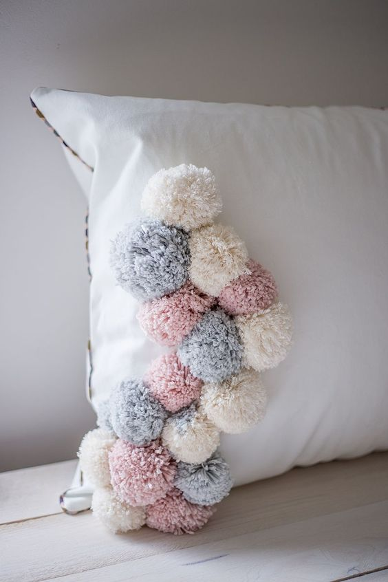 Ideas DIY con pompones 7