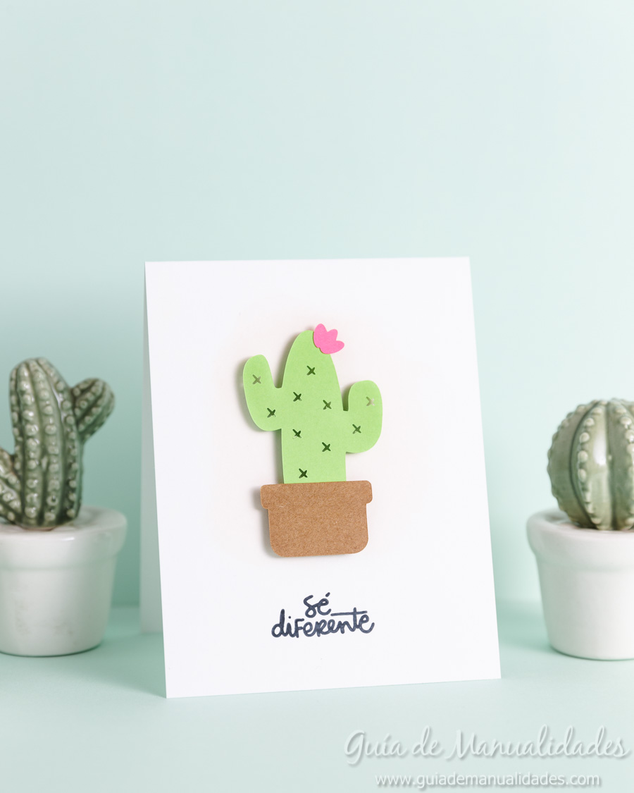 Tarjeta mini cactus 1