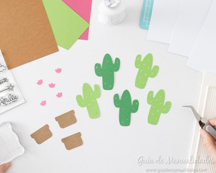 Tarjeta mini cactus 3