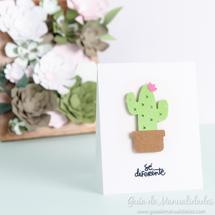 Tarjeta mini cactus 7