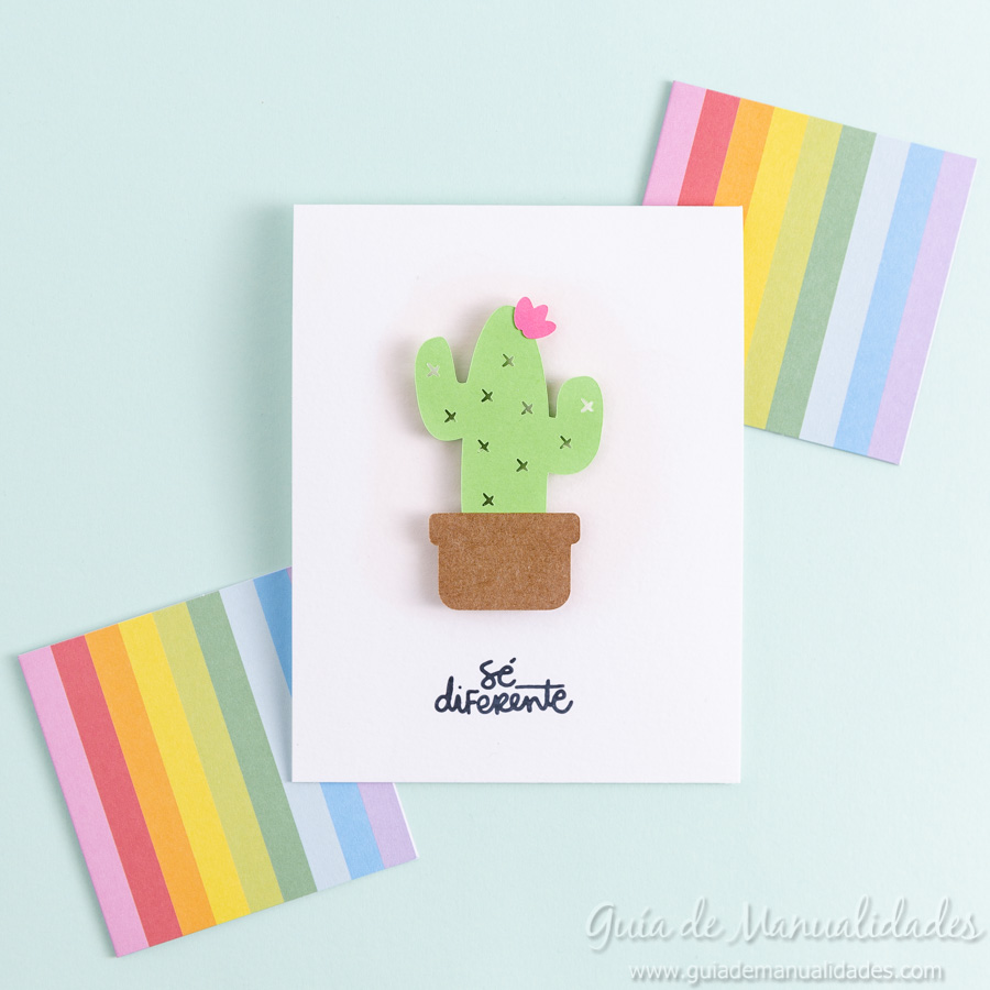 Tarjeta mini cactus 8