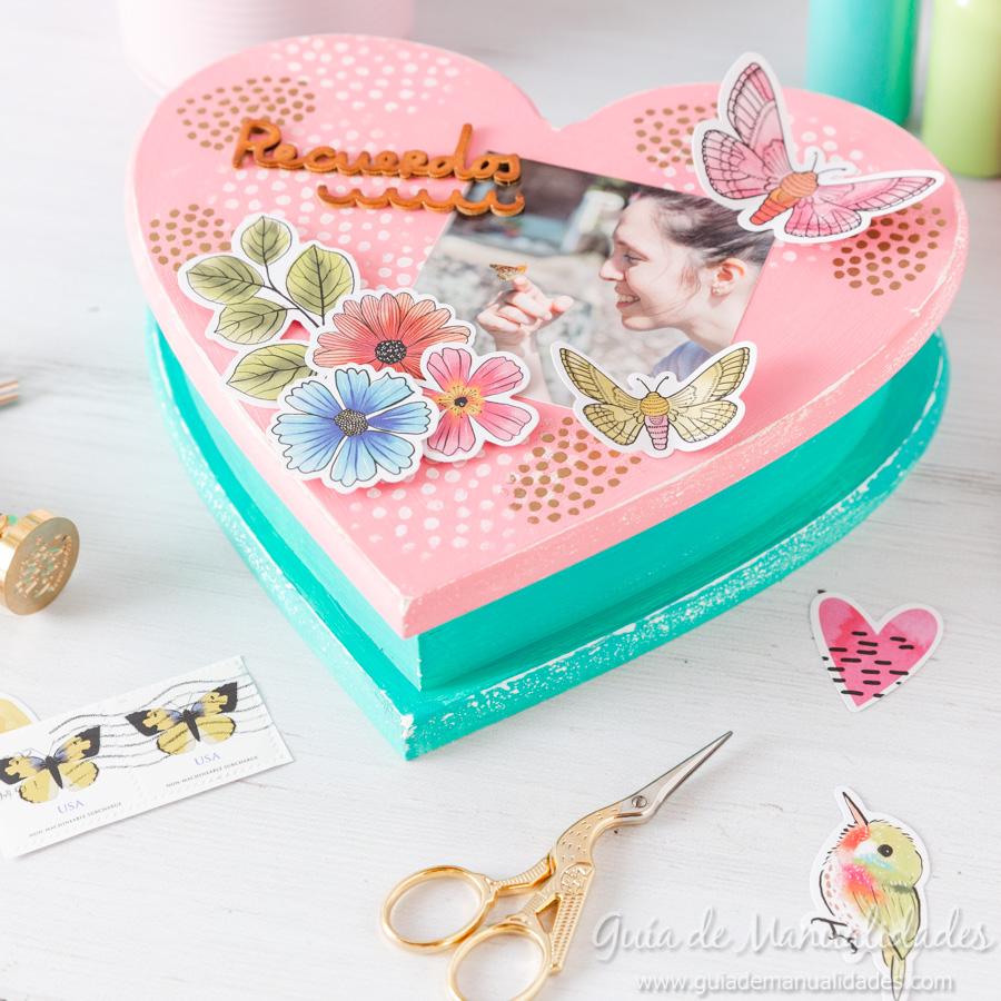Caja de recuerdos decorada 1
