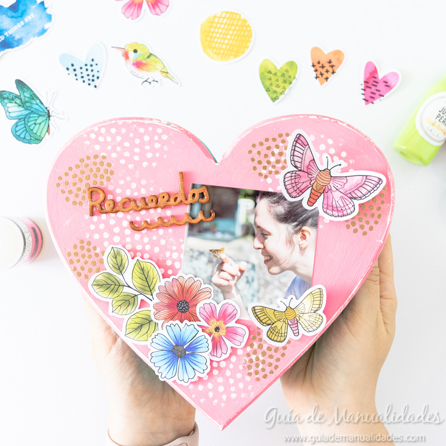 Caja de recuerdos decorada 11