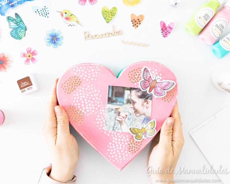 Caja de recuerdos decorada 8