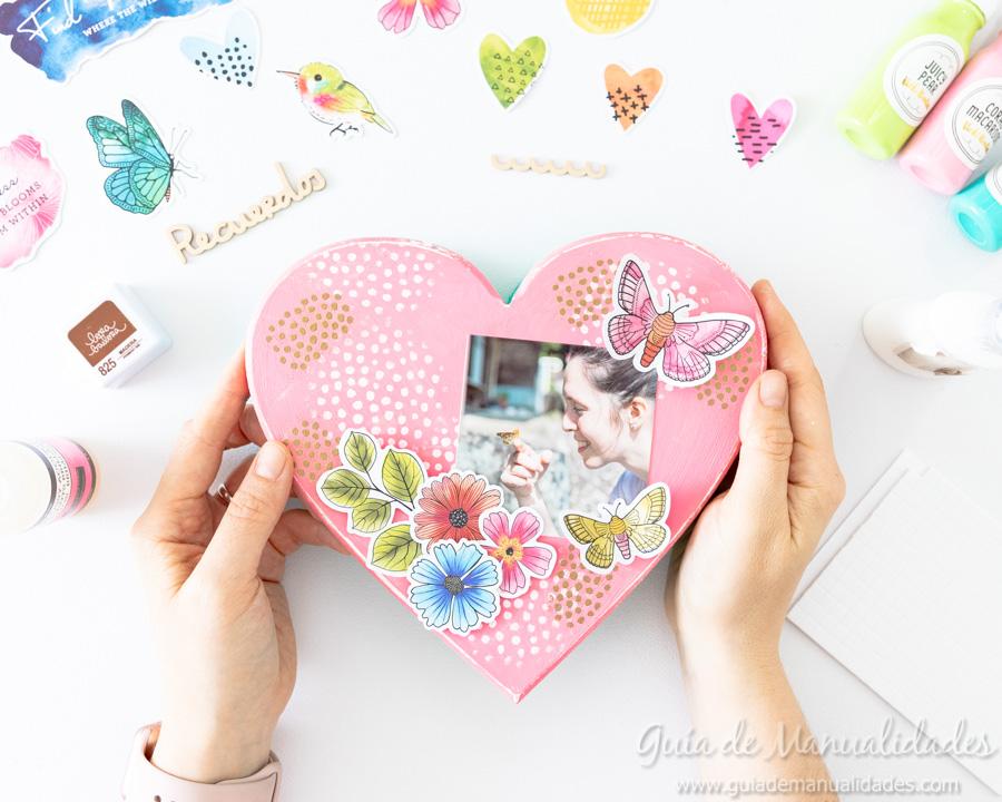 Caja de recuerdos decorada 9