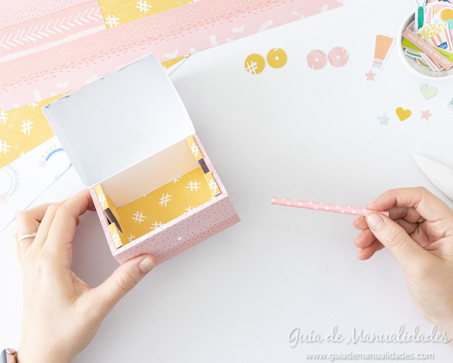 Caja para washis con papel 10