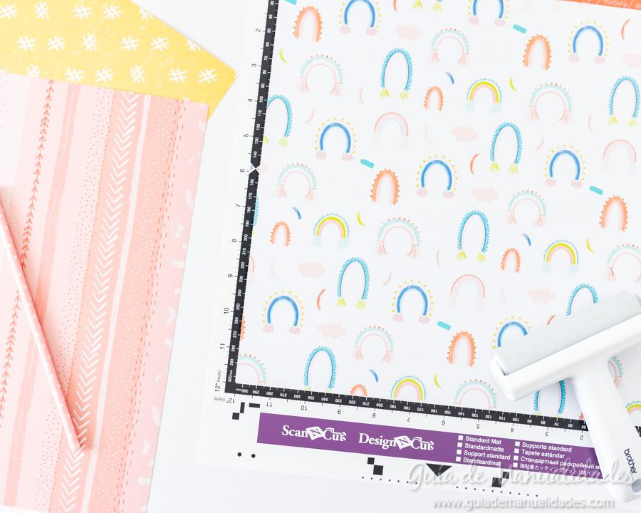 Caja para washis con papel 3