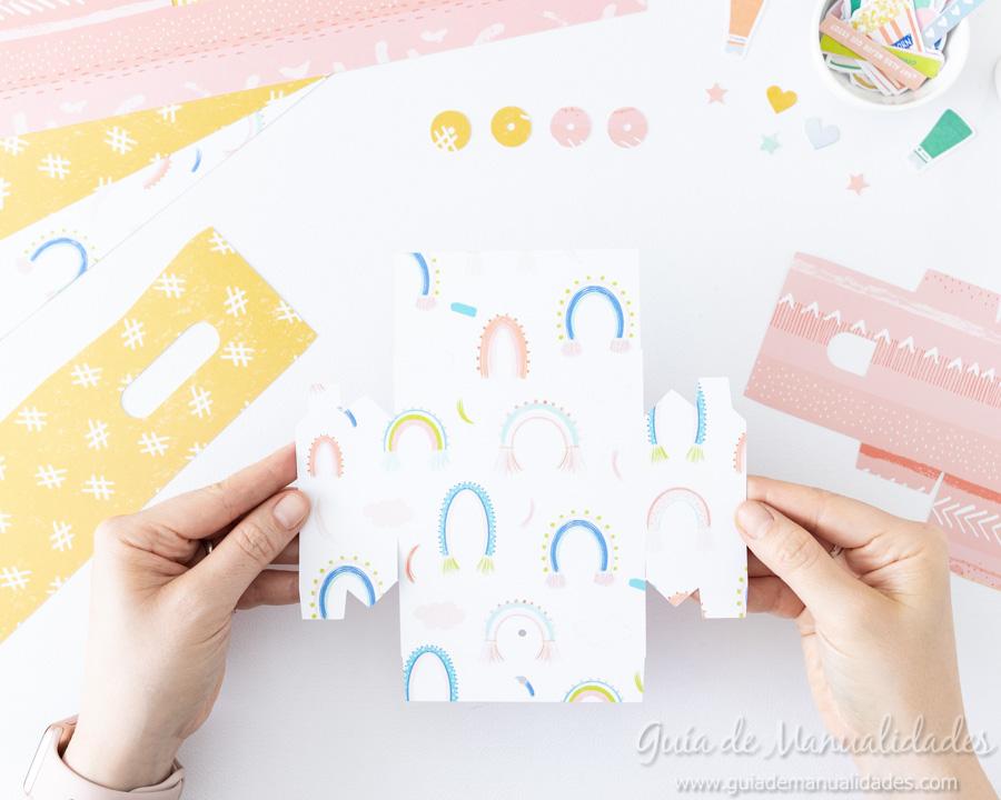 Caja para washis con papel 5