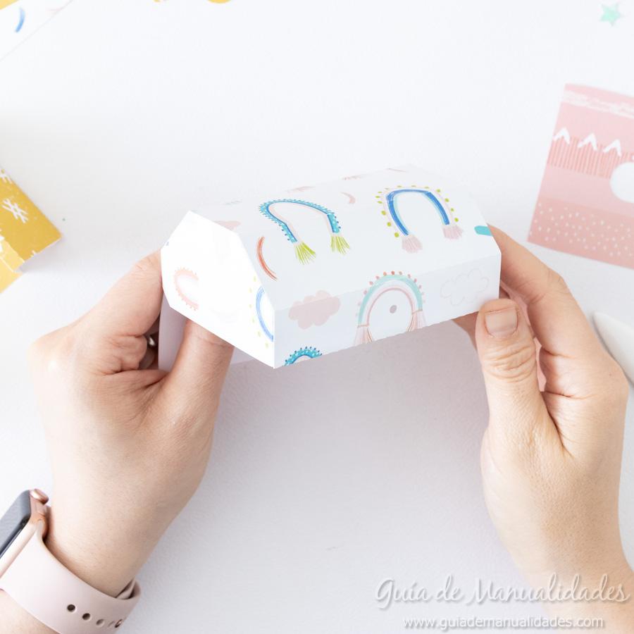 Caja para washis con papel 7