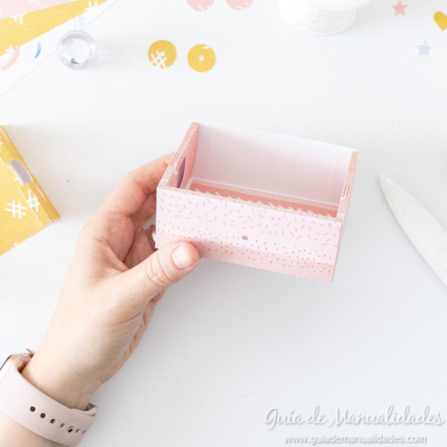 Caja para washis con papel 8