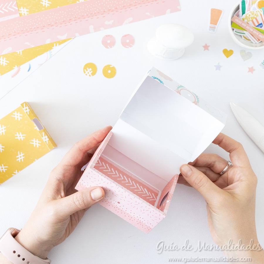 Caja para washis con papel 9