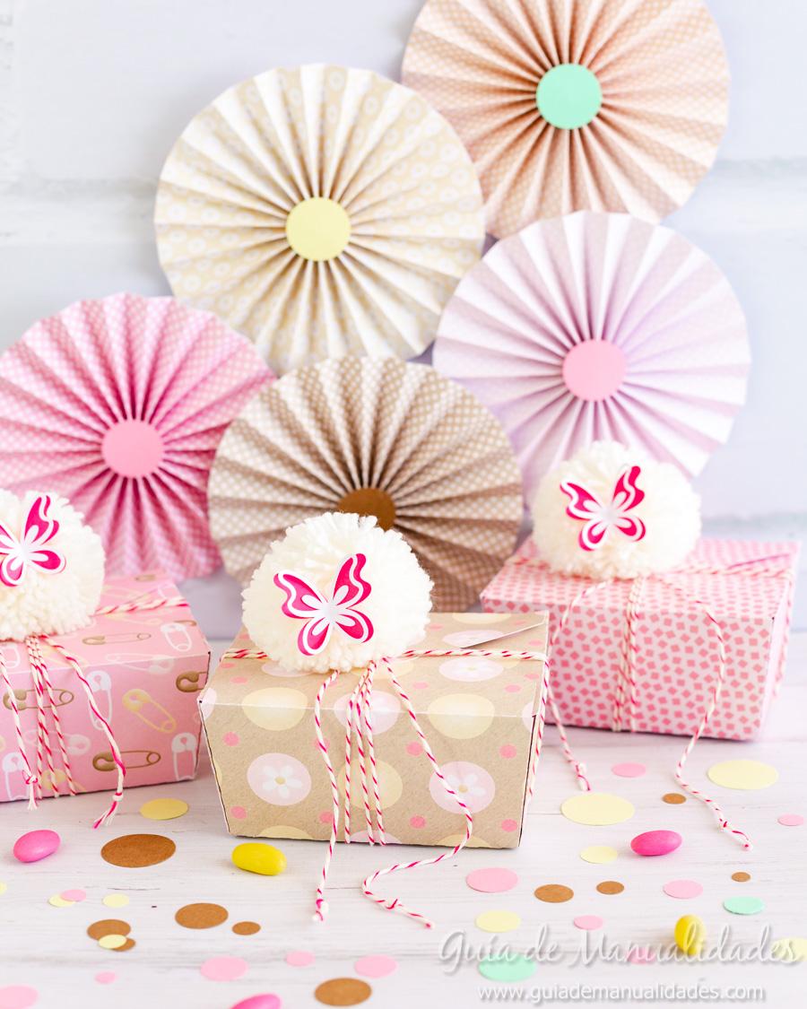 Cajitas y rosetas DIY para fiestas y celebraciones 1