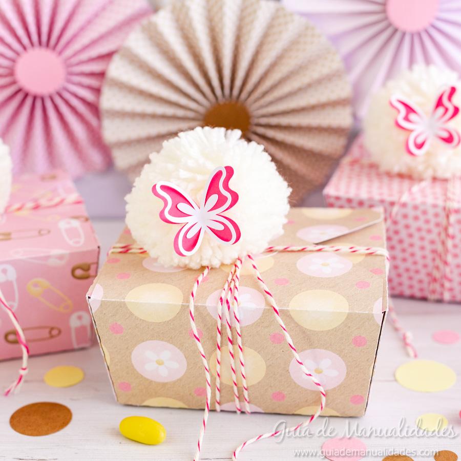Cajitas y rosetas DIY para fiestas y celebraciones 11