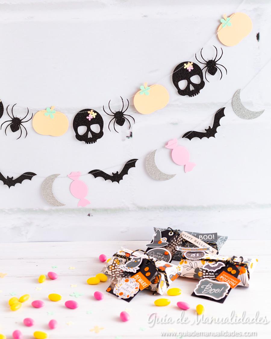 Guirnaldas DIY para Halloween 1