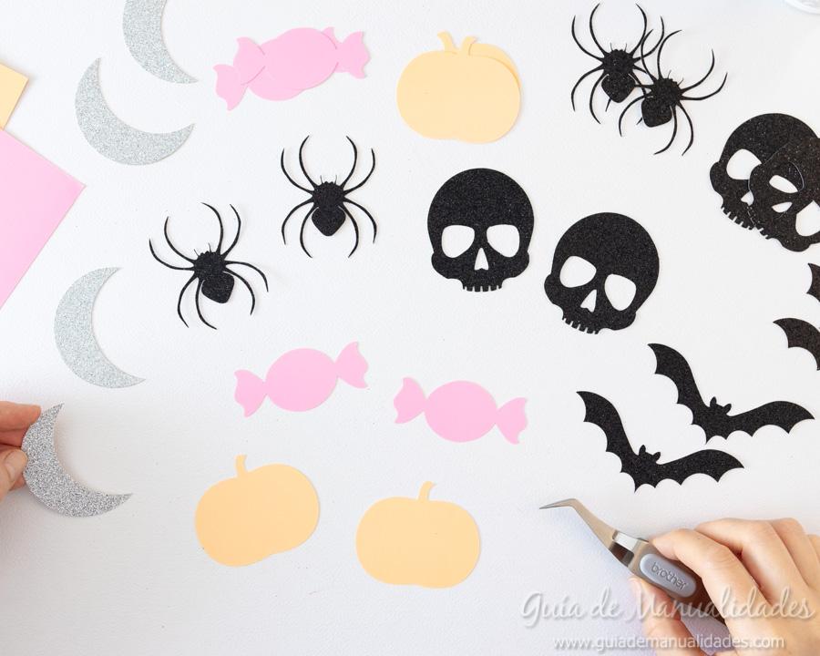 Guirnaldas DIY para Halloween 4