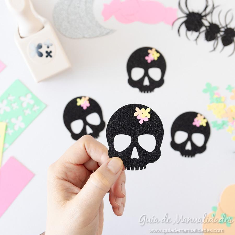 Guirnaldas DIY para Halloween 5
