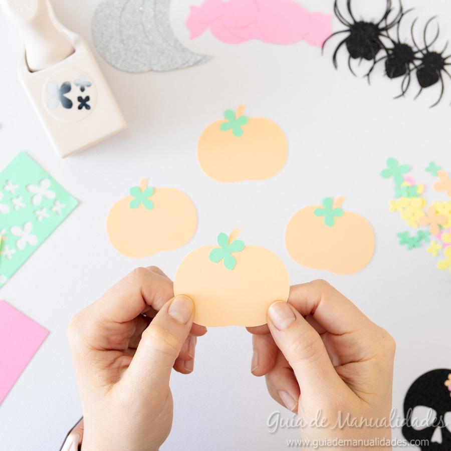 Guirnaldas DIY para Halloween 6