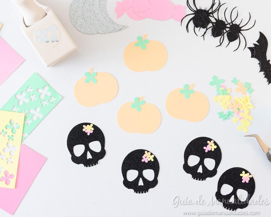 Guirnaldas DIY para Halloween 7