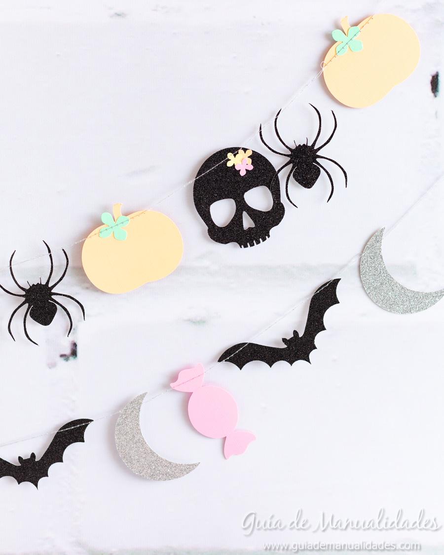 Guirnaldas DIY para Halloween 8