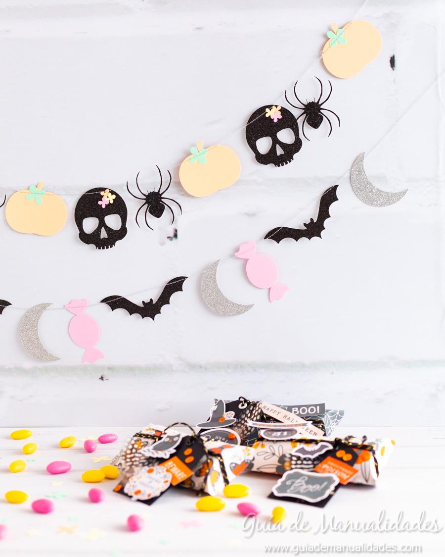 Guirnaldas DIY para Halloween 9