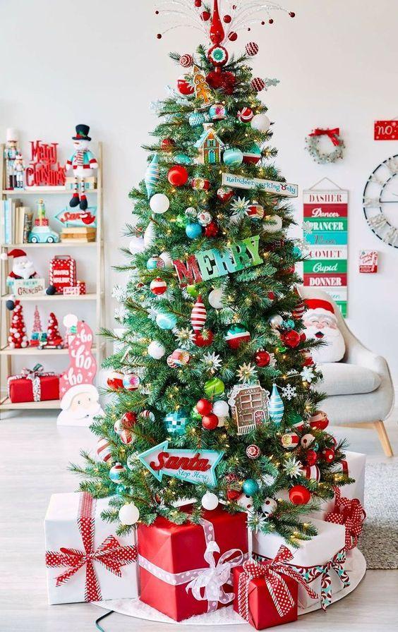 Ideas árboles de Navidad 10