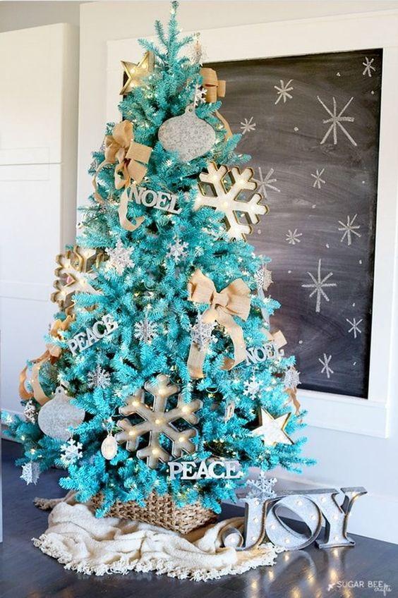 Ideas árboles de Navidad 5
